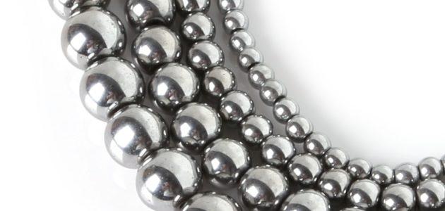 Hematiidist pärlid