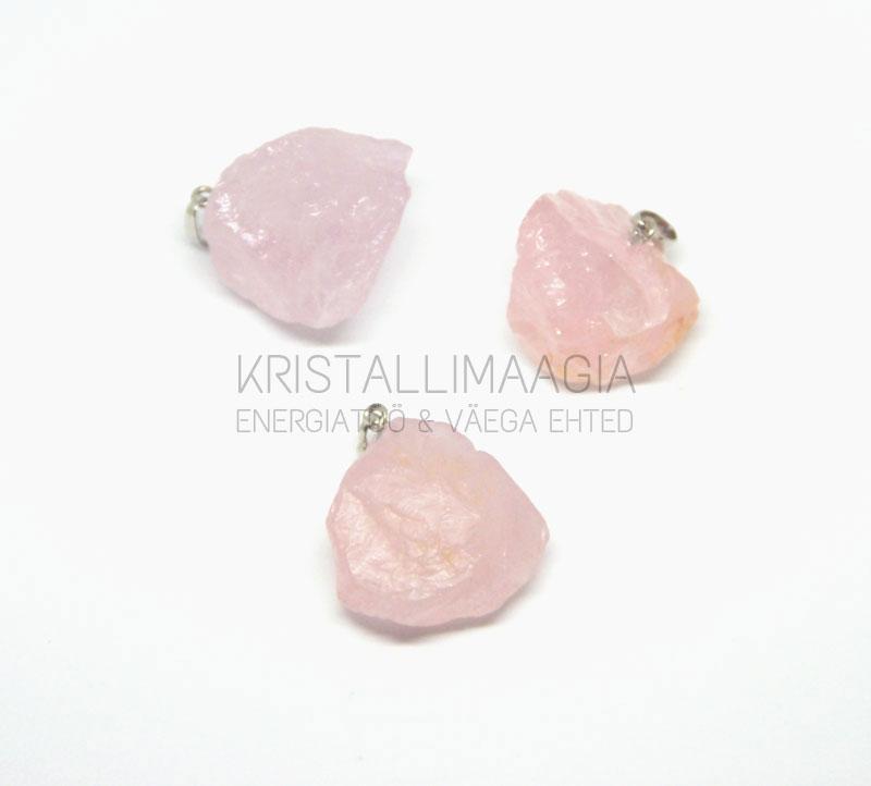 e78906e900b Roosa kvartsi toorkivist ripats – KristalliMaagia